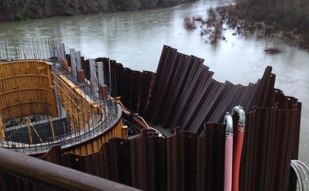Estaca prancha Cofferdams