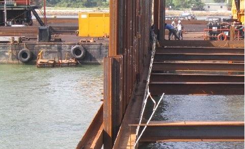 Estados limitados e fator de segurança no projeto de um muro estaca prancha ancorado