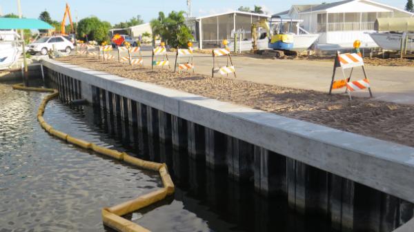 O efeito do comprimento de Estaca prancha sobre a capacidade da fundação Estaca prancha